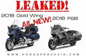 All NEW 2018 Honda Gold Wing & F6B Changes / Pictures