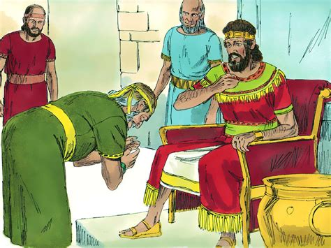 David Shows Kindness To Mephibosheth