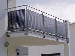 Besten balkonverkleidung edelstahl gestaltung ideen for Garten planen mit sonnenmarkise für balkon