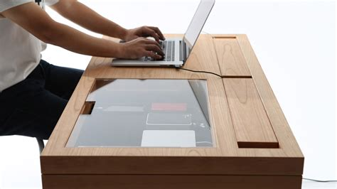 bureau japonais with this modern desk you 39 ll never miss your phone 39 s