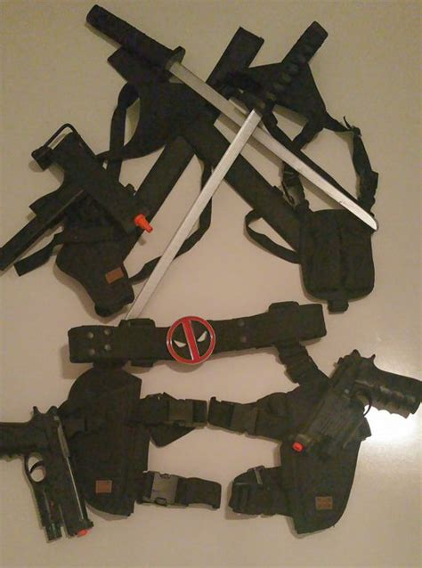 deadpool swords and holsters search deadpool stuff deadpool