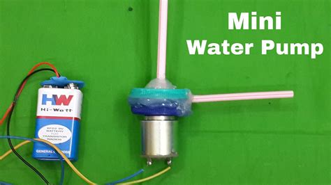 how to make a small water how to make a mini electric water pump at home youtube