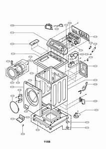 Cabinet  U0026 Control Panel Diagram  U0026 Parts List For Model
