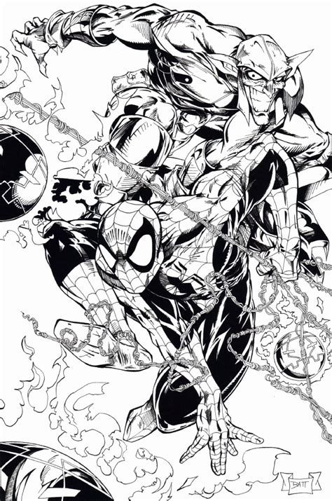 marvel  spectacular spider man coloring pages coloring home