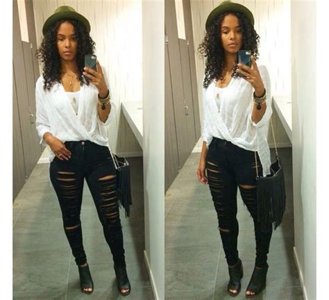 SHEY YOU SABI-TALK INTERESTING WAYS ON HOW TO ROCK A DISTRESSED JEANS FOR LADIES - click to ...