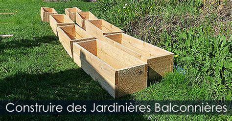 construire une jardini 232 re en bois jardini 232 re pour terrasse et balcon