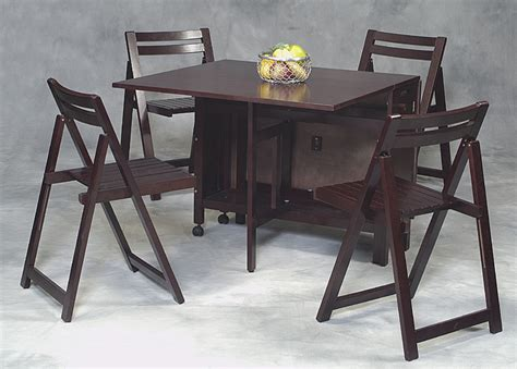 fold  table  chairs ideas  images