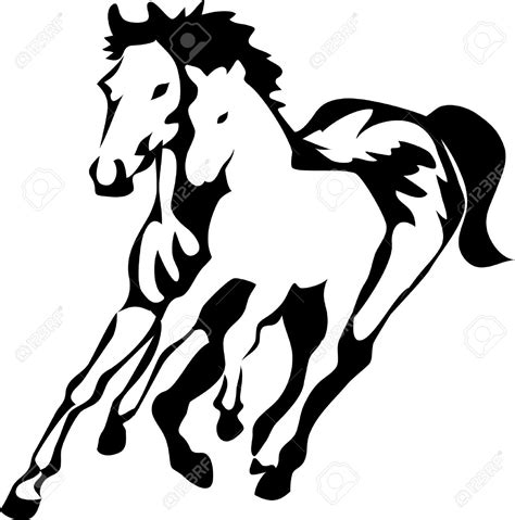 clipart mare mare and foal clipart clipground