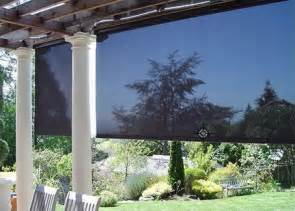 shade solution roll down screens