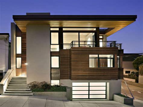 modern minimalist house beautiful exterior design