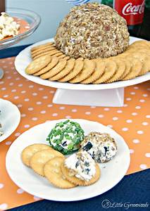 Football Snacks And Party Tips By 3 Little Greenwoods