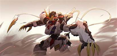 Gundam Blooded Orphans Iron 4k Suit Mobile
