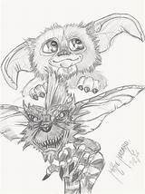 Gremlins Drawing Fan Getdrawings sketch template