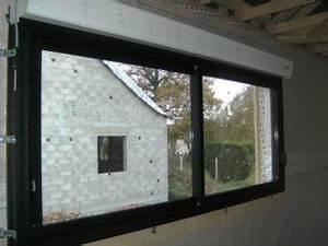 Fenetre Alu Noir : descriptif mat riaux de construction murs en ossature bois ~ Edinachiropracticcenter.com Idées de Décoration