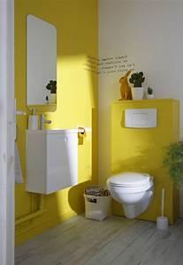 awesome couleur pour toilette pictures yourmentorinfo With beautiful couleur de peinture pour wc 3 deco wc jaune