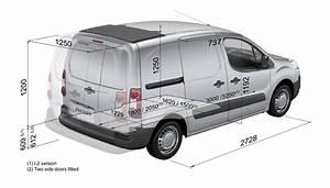 Dimensions Peugeot Partner : technical information ~ Medecine-chirurgie-esthetiques.com Avis de Voitures