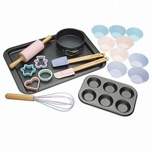 Miniamo 20 Piece Baking Set - Pink DISC Make & Bake Palmers
