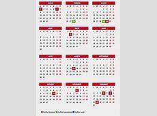 Este es el Calendario laboral en Andalucía para 2018