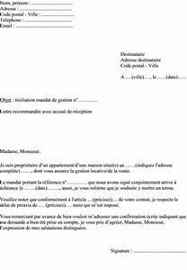 Modele Lettre Resiliation Assurance Moto Pour Vente : modele lettre resiliation mandat de gerance document online ~ Gottalentnigeria.com Avis de Voitures