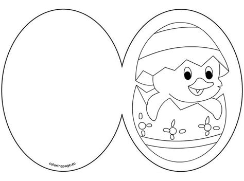 easter card templates free printable related coloring pageseaster coloring page happy