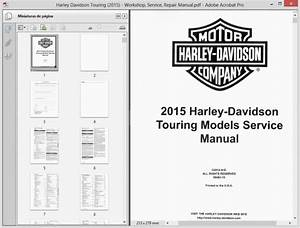 Harley Davidson Touring  2015  Service Manual    Repair Manual
