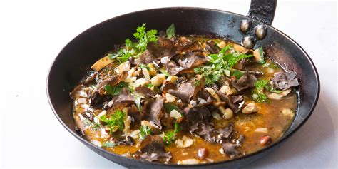 wild mushroom ragout recipe great british chefs