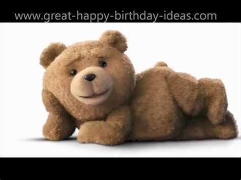 happy birthday ted style youtube alles gute zum