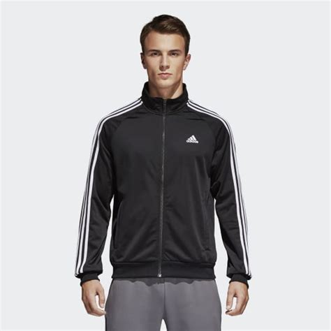 Track Jacket by Adidas Essentials Track Jacket Black Adidas Us
