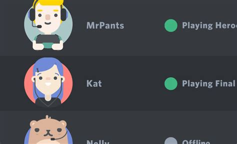Discord Template Upcoming Feature Preview Friends List Discord