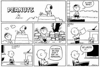 Peanuts Snoopy Comics Write Writing Charles Schulz