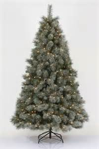 White Christmas Trees At Menards by 7 5 Pre Lit Philips Remains Lit Balsam Fir Tree Clear
