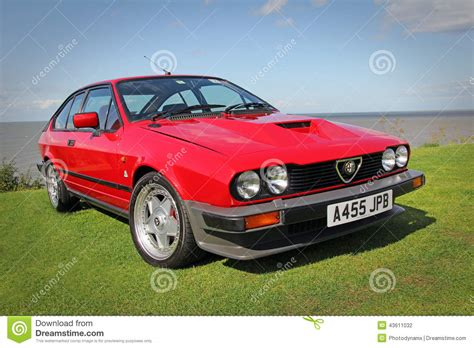 Vintage Alfa Romeo Editorial Photography