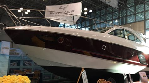 Boat Show Javits Center 2017 by 112th New York Boat Show Launches At Javits Center 171 Cbs