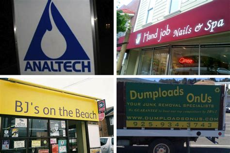 Hilariously Inappropriate Business Names Vumped