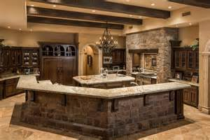 kitchen island with black granite top 35 beautiful rustic kitchens design ideas designing idea