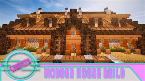 minecraft   build  house roof design studtech ep youtube