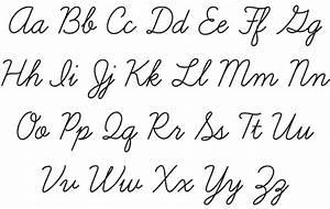 Cursive Script Handwriting | Hand Writing