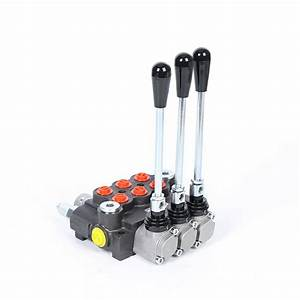 New  3 Spool Hydraulic Control Valve Double Acting 11gpm