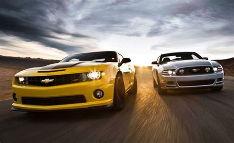 Camaro Vs Mustang Wallpaper by Comparison Chevrolet Camaro Ss 1le Vs Ford Mustang Gt