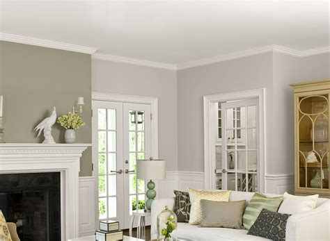 Two Color Living Room Paint Ideas Home Combo