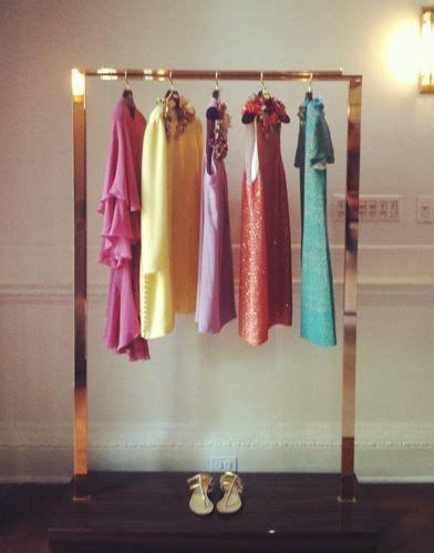 gold clothing rack gold garment rack so pretty deco
