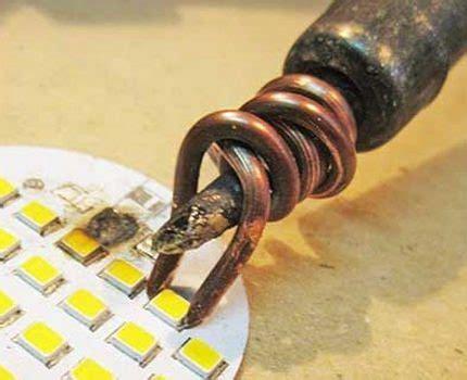 Неисправности светодиодных ламп всё о электрике в доме
