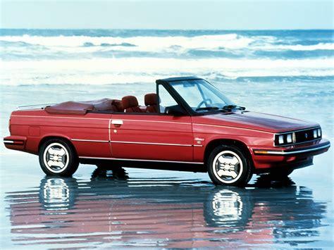 1985 renault alliance convertible renault alliance convertible 39 1985 87
