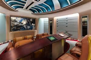 geek dream mansion for sale with star trek theater and