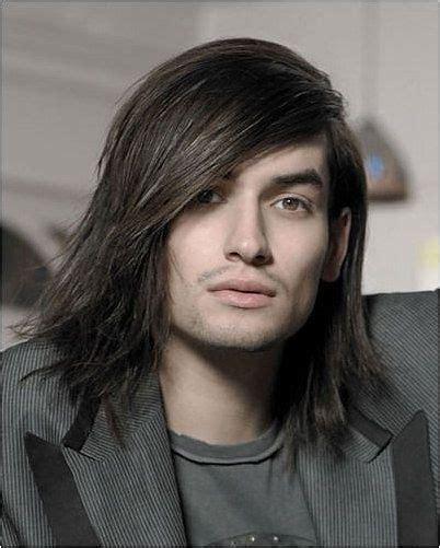 Long Straight Choppy Layered Haircuts With Bangs Straight