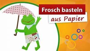 Basteln Aus Papier : frosch basteln aus papier trendmarkt24 bastelidee und bastelanleitung youtube ~ A.2002-acura-tl-radio.info Haus und Dekorationen