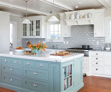 Colorful Kitchen Islands  Better Homes & Gardens