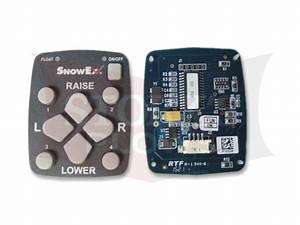 52230 Snowex Straight Blade Handheld Controller Curcuit