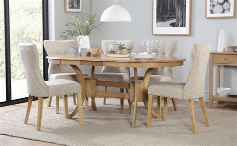 townhouse oval oak extending dining table   bewley