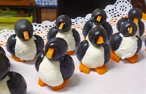 deko cuisine oliven ziegenkäse pinguine rezept mit bild midnightcooking chefkoch de